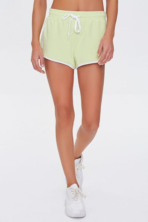Active Stripe Ringer Shorts, image 2