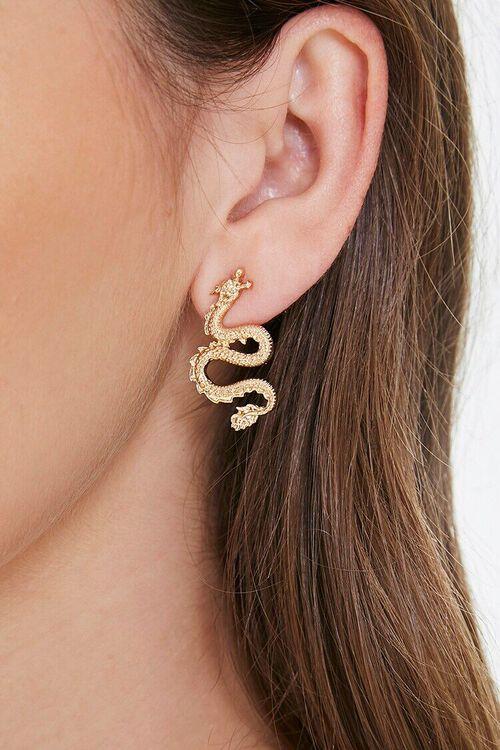 Dragon Drop Earrings, image 1