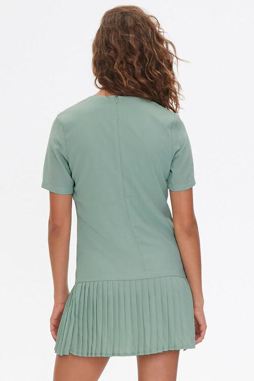 Pleated Shift Dress, image 3