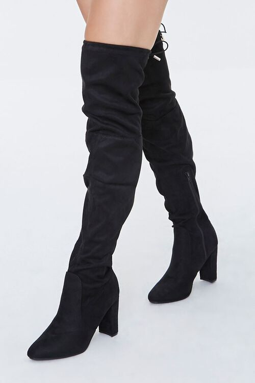 Over-the-Knee Lace-Up Boots, image 1