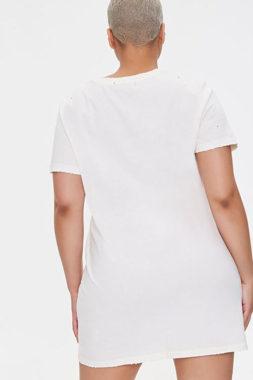Plus Size Fearless Graphic T-Shirt Dress, image 3
