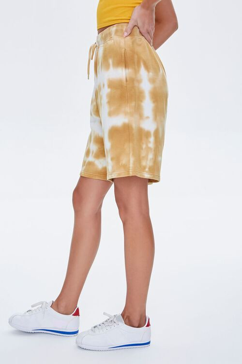 Bleached Drawstring Shorts, image 3