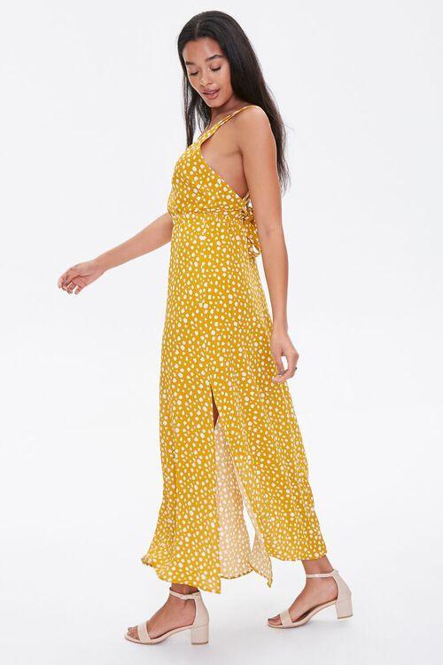 Spotted Print M-Slit Dress, image 3