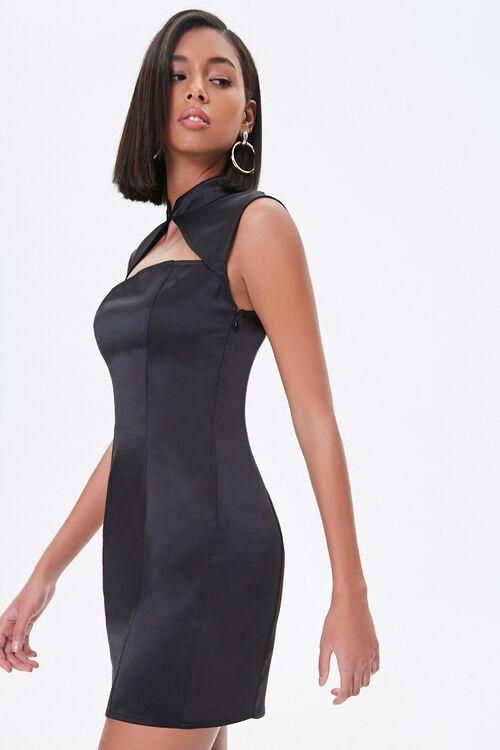 Satin Mini Dress, image 2