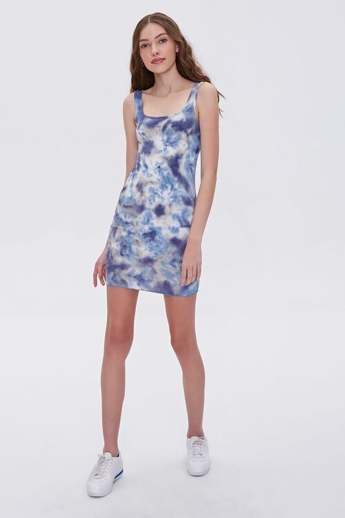 Tie-Dye Bodycon Dress, image 4