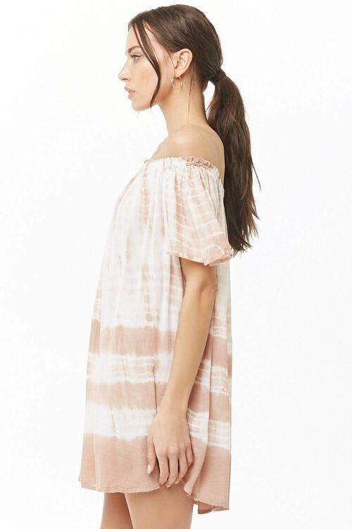 Tie-Dye Off-the-Shoulder Dress, image 2