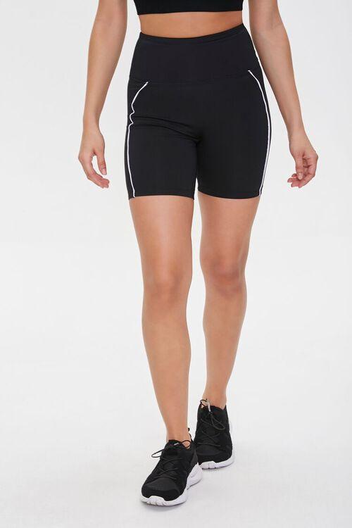 Active High-Rise Biker Shorts, image 3
