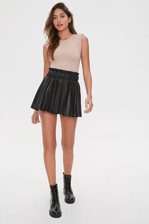 Sleeveless Knit Bodysuit, image 4