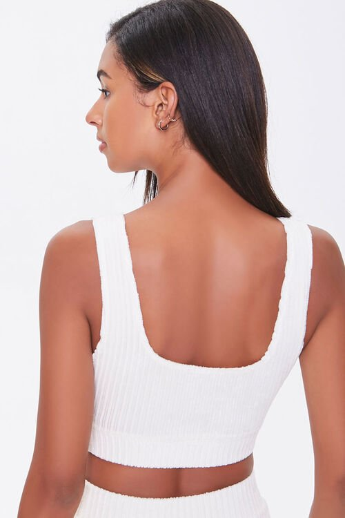 Ribbed Knit Crop Top, image 3