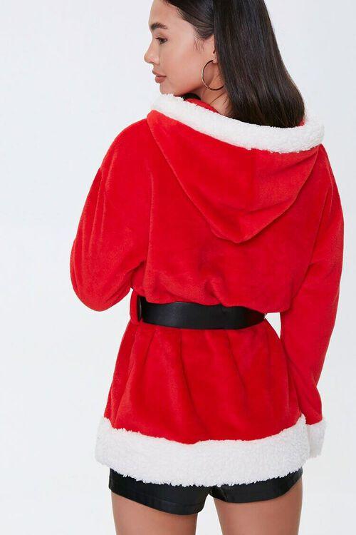 RED/MULTI Santa Costume Hoodie, image 3
