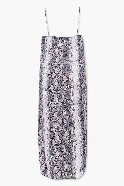 Plus Size Faux Snakeskin Cami Dress, image 2