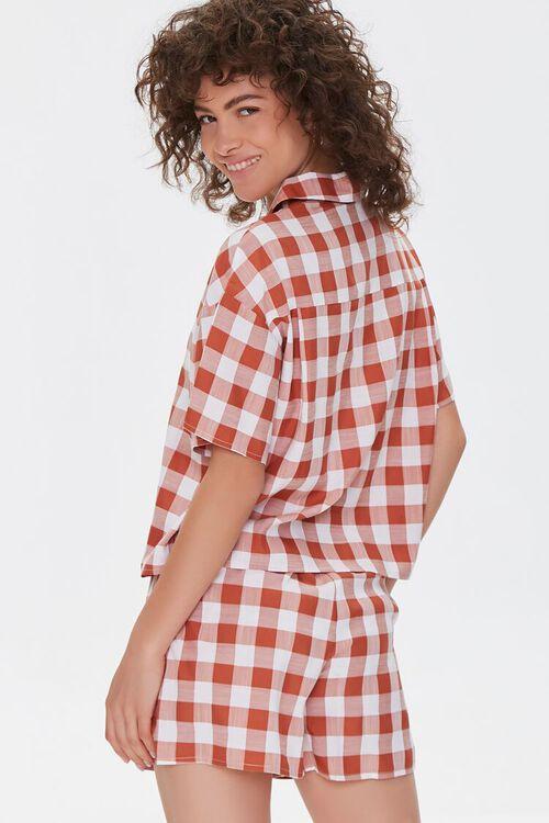 Gingham Shirt & Shorts Set, image 3