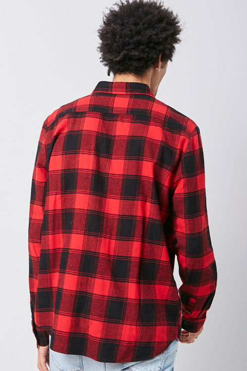Classic Plaid Flannel Shirt, image 3