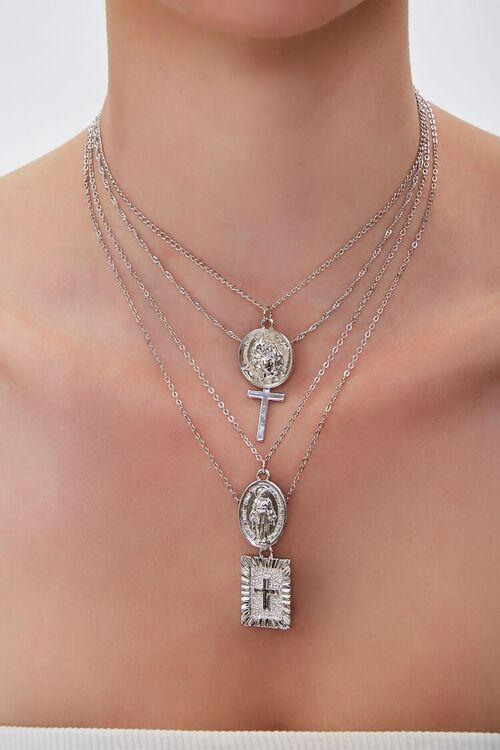 Iconograph Pendant Layered Necklace, image 1