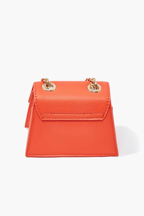 Mini Faux Leather Crossbody Bag, image 4