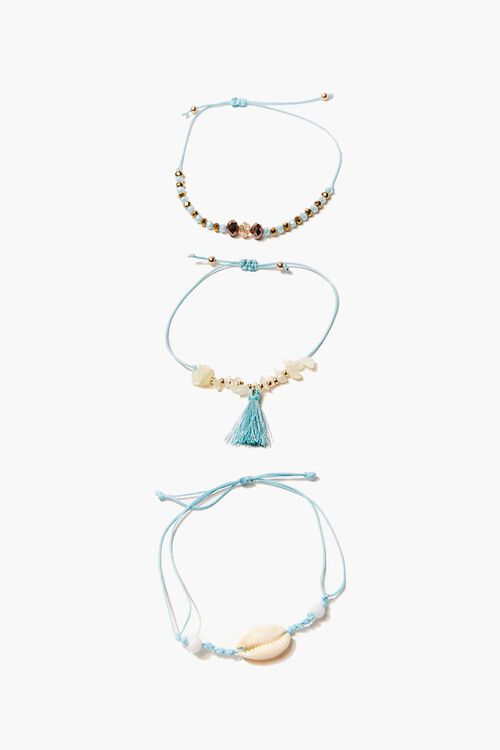 Beaded Anklet Set, image 2