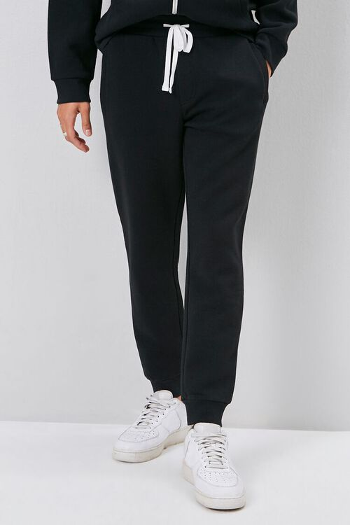 Drawstring Fleece Joggers, image 2