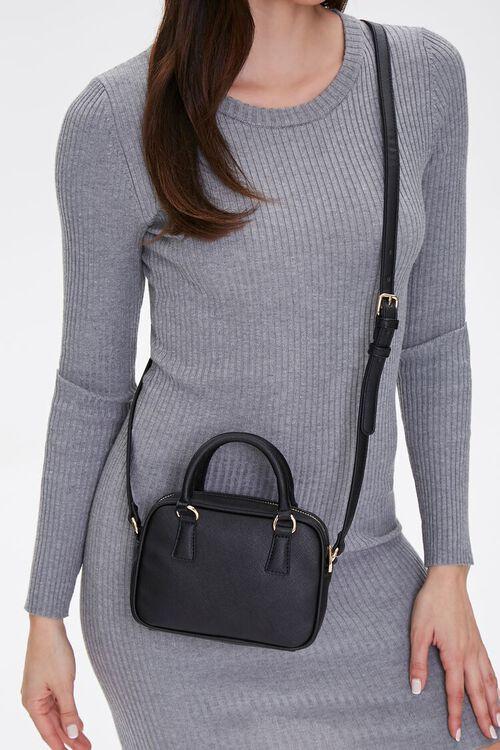 Twin Top Handle Crossbody Bag, image 1