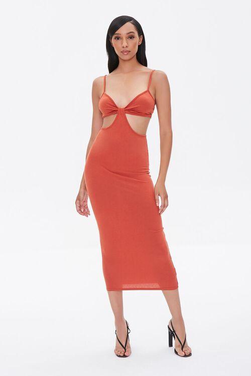 Cutout Cami Midi Dress, image 4