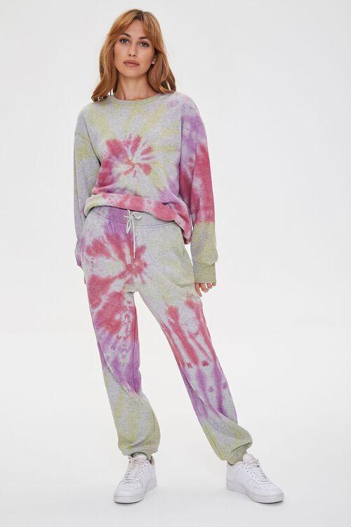 Fleece Tie-Dye Joggers, image 1