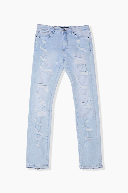 Distressed Skinny Jeans, image 1