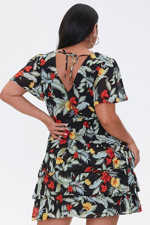 Plus Size Tropical Floral Dress, image 3