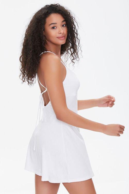 Lace-Up Mini Dress, image 2