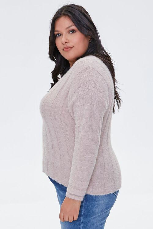 Fuzzy Knit Sweater, image 2