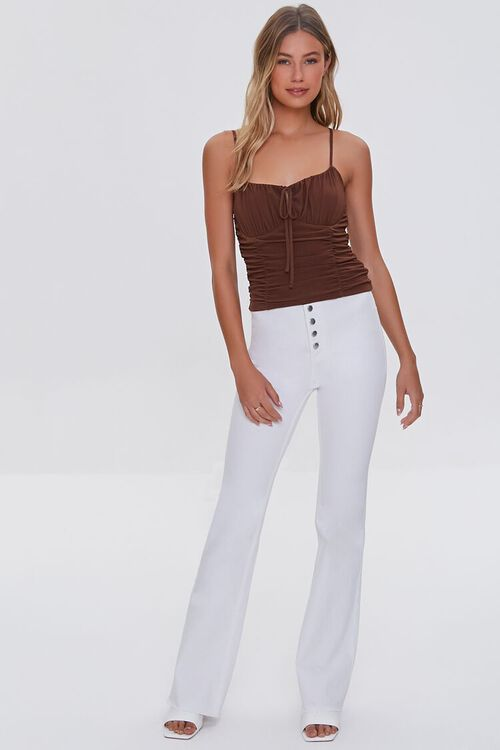 Ruched Cropped Cami, image 4