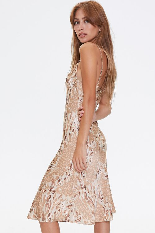 Leopard Print Slip Dress, image 2