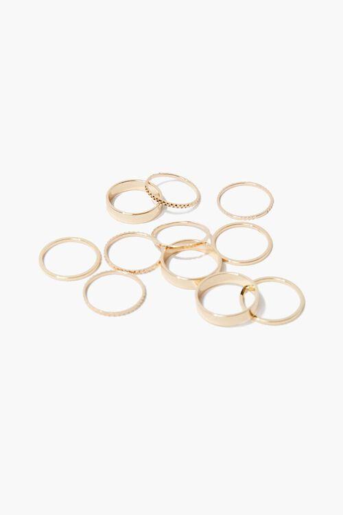 High-Polish Ring Set, image 1