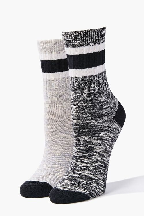 Marled Crew Socks - 2 Pack, image 1