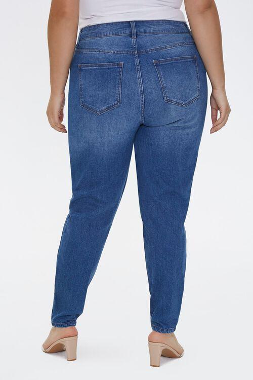 Plus Size Faux Pearl Jeans, image 4