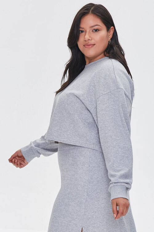 Plus Size French Terry Pullover, image 2