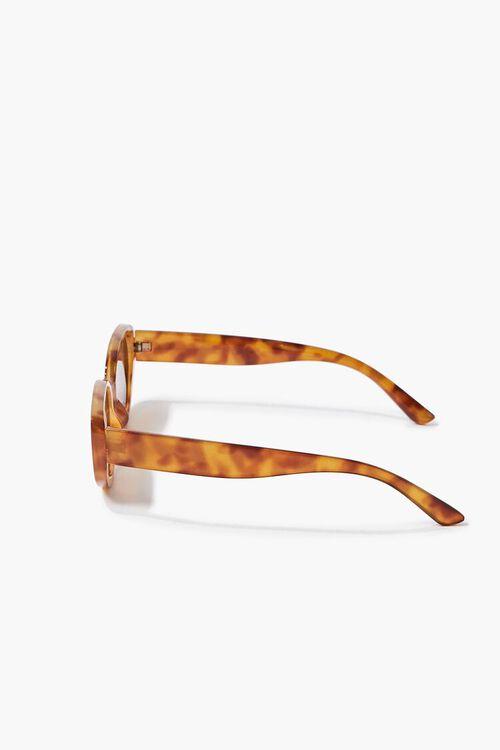 Tortoiseshell Oval Sunglasses, image 4