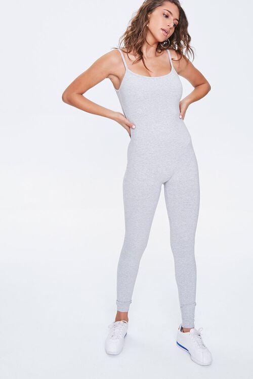 Cotton-Blend Cami Jumpsuit, image 1