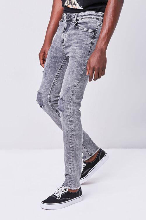 Premium Distressed Skinny Jeans, image 3