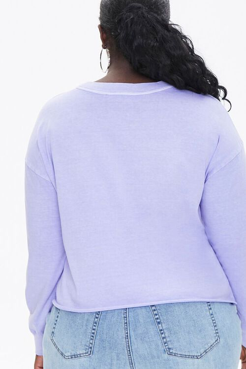 Plus Size Angel Graphic Top, image 3