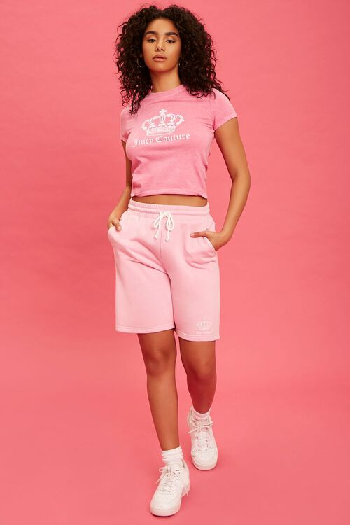 PINK/WHITE Juicy Couture Graphic Tee, image 4