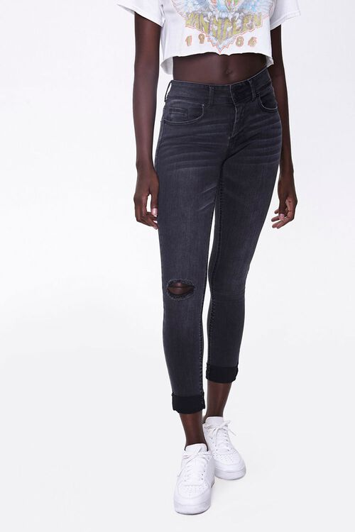 Recycled Skinny Ankle Jeans, image 4