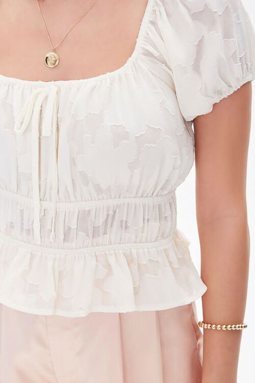 Burnout Puff-Sleeve Top, image 5