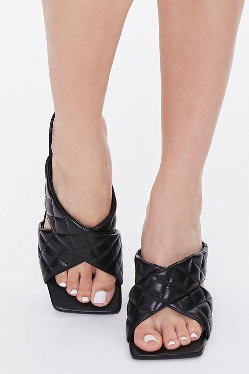 Quilted Crisscross Heels, image 4