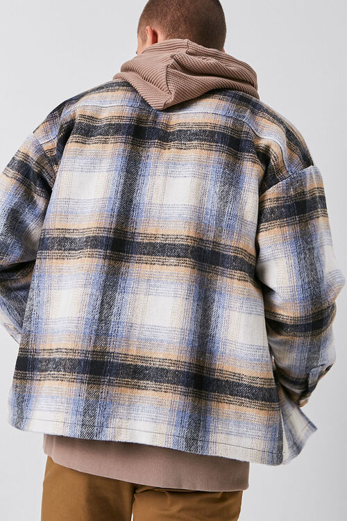 Plaid Zip-Up Jacket, image 3