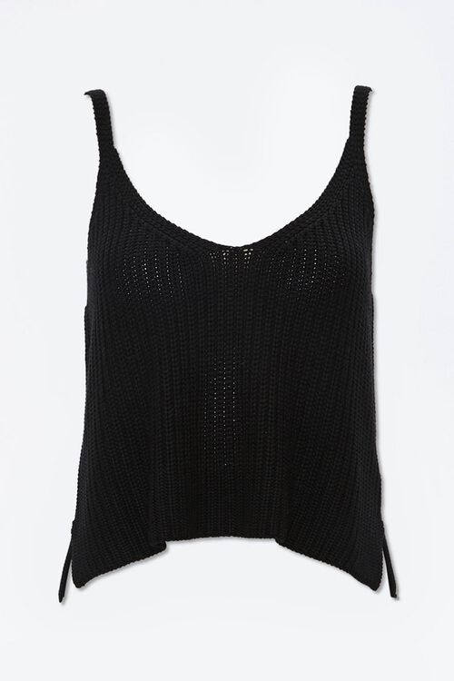 Vented Crochet Cami, image 1
