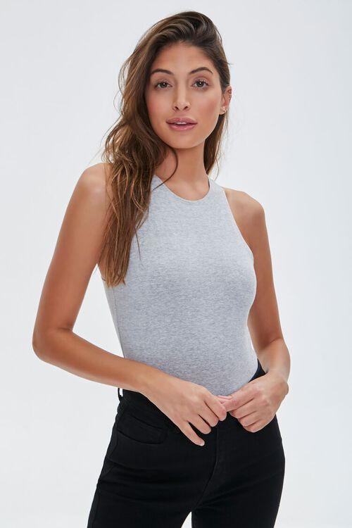 Sleeveless Stretch Bodysuit, image 1
