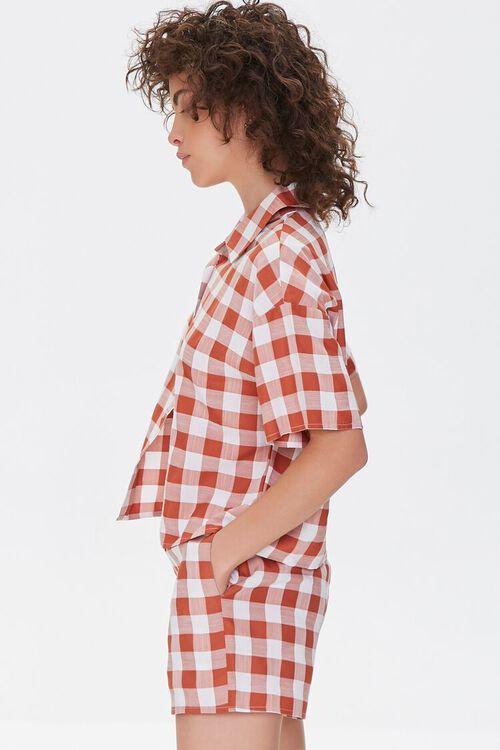 Gingham Shirt & Shorts Set, image 2