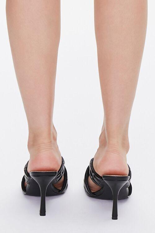 Quilted Crisscross Heels, image 3