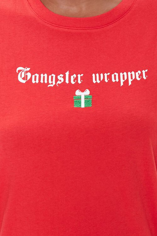 Organic Cotton Gangster Wrapper Tee, image 5