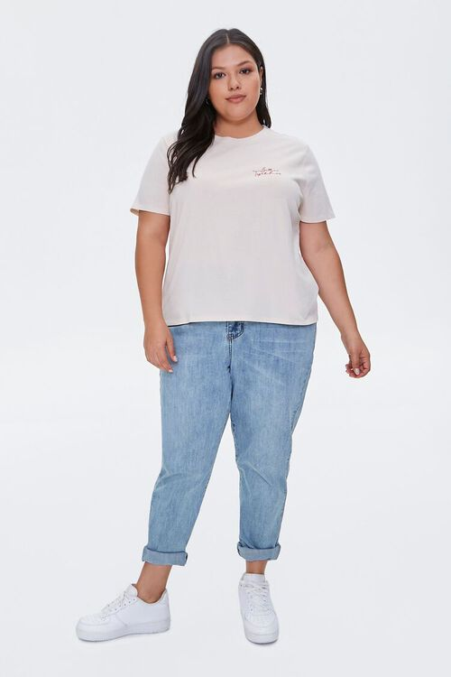 Plus Size Organic Cotton Better Together Tee, image 4