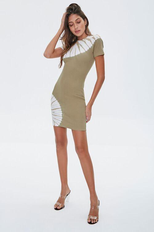 Tie-Dye Wash T-Shirt Dress, image 4